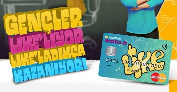 Vakıfbank Öğrenci Kredi Kartı - Like Card