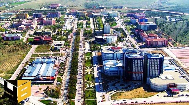 Selçuk Üniversitesi Kampüsü