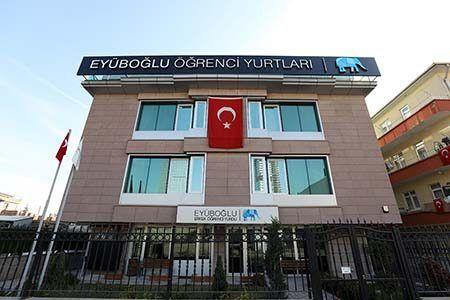 Ankara Eyüboğlu Erkek Yurdu - Balgat