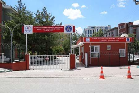 Şanlıurfa Mehmet Akif İnan KYK Öğrenci Yurdu