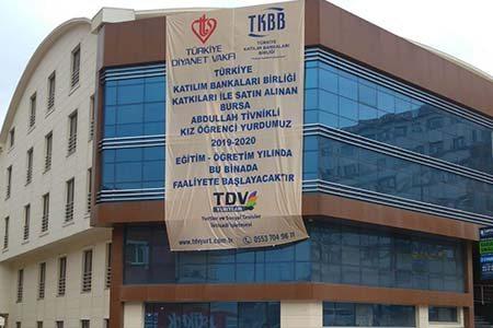 Bursa TDV Abdullah Tivnikli Kız Yurdu