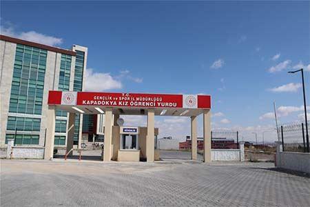 Kapadokya KYK Öğrenci Yurdu Nevşehir